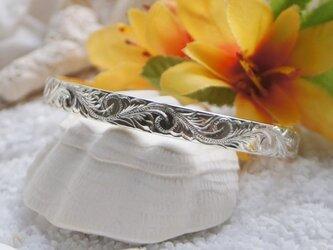 ハワイアンジュエリーバングル(オープンタイプ・Silver)の画像