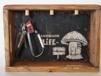 木箱☆キーキャッチの画像
