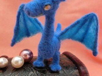 ミニミニベビードラゴン ブルーの画像