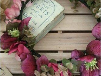 toka*クリスマスローズの花かんむり #09の画像
