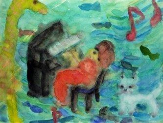 「ピアノの演奏会」の画像