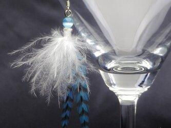 羽根のピアス オリジナル・フェザーピアス SV925の画像