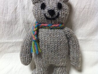 knit kuma woolの画像