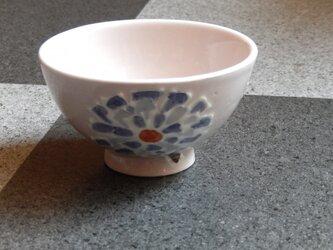 桜土のお茶碗(あじさい)の画像