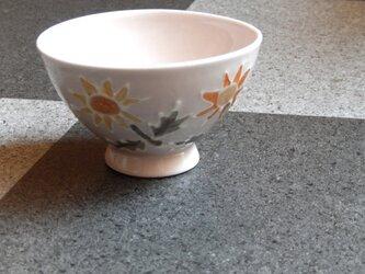 桜土のお茶碗(たんぽぽ)の画像