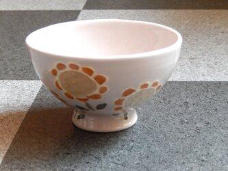 桜土のお茶碗(ひまわり)の画像