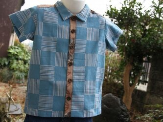 手ぬぐいシャツ(100サイズ)の画像