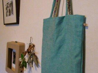 トートバッグ その2 グリーンの画像