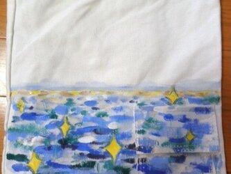 キャンバストート 海の画像