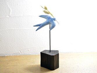 花運ぶ鳥 #B-01AG14の画像
