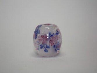 花かご(桃色)2の画像