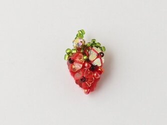 ベジピアス fraise (片耳)の画像