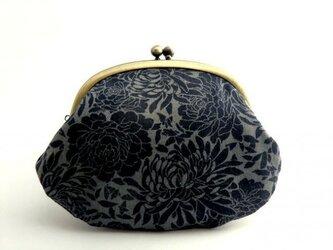 【受注制作】chrysanthemum - がま口ポーチの画像
