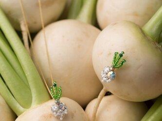 『野菜モチーフのアクセサリー/ピン』 navetの画像