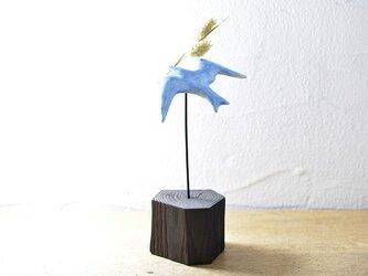 花運ぶ鳥 #A-03AG14の画像
