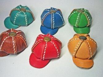 手縫いのミニチュアキャスケット(オーダー用)の画像