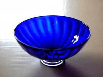 瑠璃高台鉢の画像