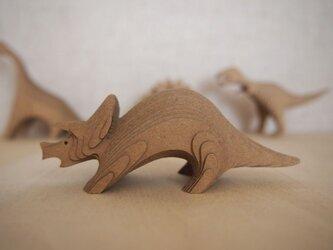 【工作キット】DANSAURUS-トリケラトプスの画像