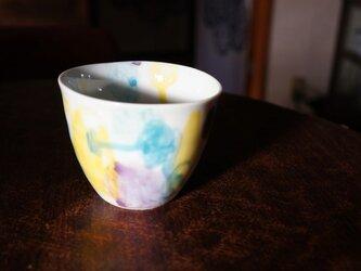 水彩カップ蕎麦猪口 infc14018-007の画像