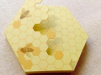 蜜蜂メモの画像