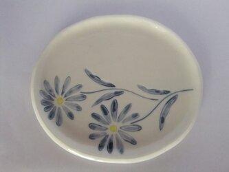 小判型皿 マーガレットの画像