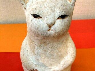 陶猫☆桜満開の画像