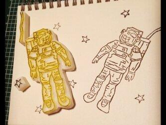 宇宙飛行士の画像