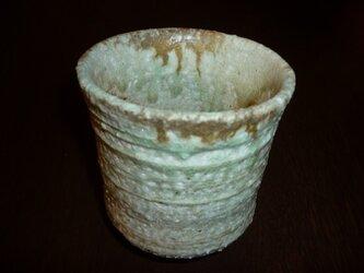 自然釉の湯飲みの画像