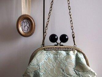 ベネチア製シルク生地のチェーン付きバッグの画像
