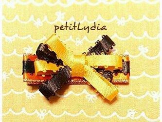 ベビー&キッズヘアピン オレンジチョコの画像