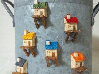 磁石の家(木製ロフト)の画像