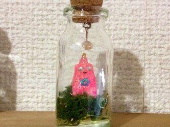 うちぅじんの小瓶標本オブジェ(UFO)の画像