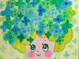 green girlの画像