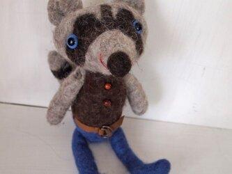 人形 アライグマ BOYの画像