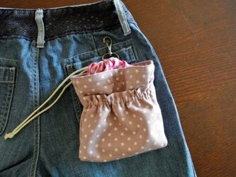 消臭マナーチョークバッグS 淡いろピンクの画像