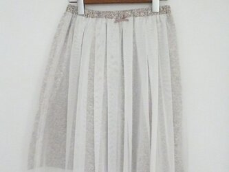 リバティkeikoのチュールスカートの画像