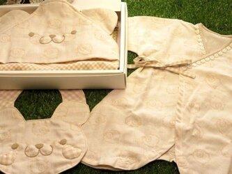 出産祝いギフトセット スタイ・肌着・おくるみの画像