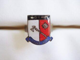 Vintageパーツのリング(斧の画像