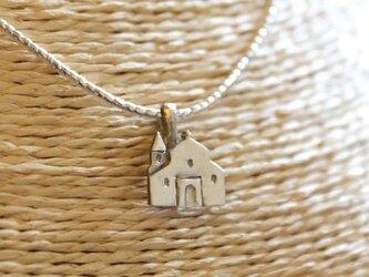 ブランシオン村教会のモチーフネックレスの画像