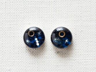 まるい耳飾りT03/金環と三ツ星の画像