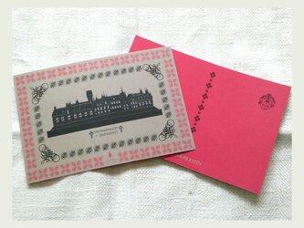 ポストカード hotel 2枚setの画像