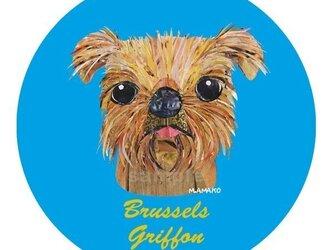 ブリュッセル・グリフォン《犬種名ステッカー/小型犬》の画像