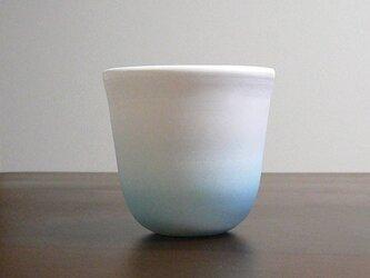 白彩-カップ(ラムネ色)の画像