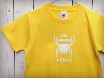 nijimo KIDS Tシャツ〈イエロー〉の画像