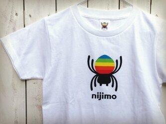 nijimo KIDS Tシャツ〈ホワイト〉の画像