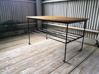 【展示作品】ムービングワークテーブル(naoko様仕様)の画像