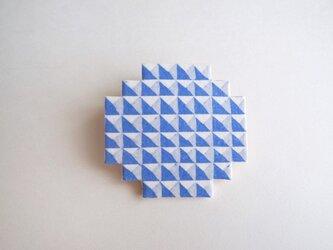 :Sale: ブロックブローチ/ 円(青)の画像