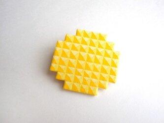 :Sale: ブロックブローチ/ 円(黄色)の画像
