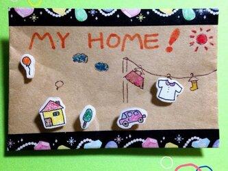 お家ピアスの画像