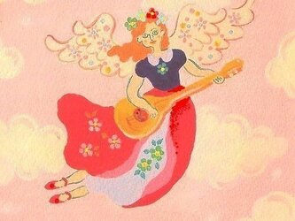 赤い天使・ポストカードの画像
